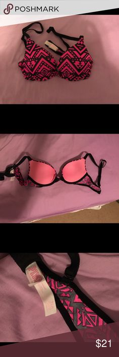 PINK Victoria's Secret Bra This bra is in perfect condition, it is super comfortable. There's nothing wrong with it I just grew out of it. It was only worn a few times. Check out my seller discount!!! PINK Victoria's Secret Intimates & Sleepwear Bras