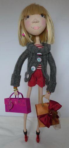BONECAS PEPA: Boneca Modelada: Pura Inspiração...