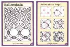 BEEZ in the Belfry: Tangle Card Challenge #3 - Ballenchain