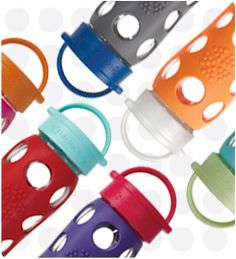 Gear Reviews on www.adventuretravelgal.com - love the glass yet protected bottles from Life Factory, no more yucky plastic! #LifeFactory #waterbottles