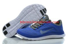 018b725c035f7 Nike Free 3.0 V5 Womens Royal Blue Carbon Gray 552392 510 New Jordans Shoes