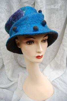 Maudjesstyling: Supermooie handgevilte hoed van sassafrasdesignl op Etsy