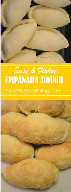 The BEST Flakey Empanada Dough I've ever made. Check it out! - The BEST Flakey Empanada Dough I've ever made. Check it out! Empanadas Recipe Dough, Pastry Dough Recipe, Puff Pastry Dough, Puff Pastry Recipes, Spanish Empanada Recipe, Empanadas Dough For Frying, Hand Pie Crust Recipe, Baked Empanadas, Sauces