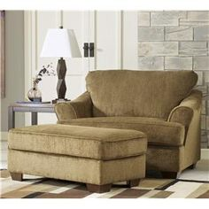 Great I Want An Oversized Chair With An Ottoman So That My Hubby And I Can Sit