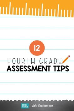 12 Fabulous Fourth Grade Assessment Ideas. Knowing where students are at in their learning is critical, that's why these fourth grade assessment ideas are perfect—virtually or in the classroom! #assessment #virtuallearning #learningathome #classroom #teaching #teachingtips #teachingresources #fourthgrade First Grade Assessment, Kindergarten Assessment, Formative Assessment, Teaching Kindergarten, Student Learning, Teaching Ideas, Fifth Grade, Third Grade, Teaching Second Grade