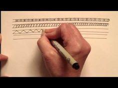zenspirations patterning techniques video