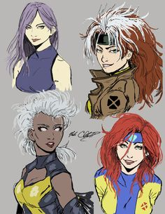female X-men-concept sketch by Mark-Clark-II on DeviantArt