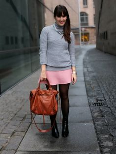 Pink And Grey | Pieces of Mariposa