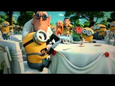 Despicable me 2 last song !!!!SPOILER ALERT!!! if you have not seen this movie don't watch this clip
