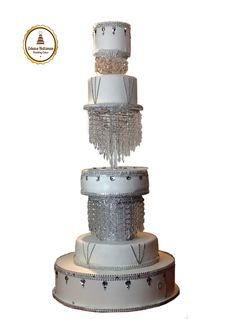 sex and the city style wedding cake. City Style, Wedding Cakes, Decor, Food Cakes, Wedding Gown Cakes, Decoration, Cake Wedding, Decorating, Wedding Cake