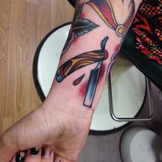 #knife #tattoo