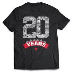 Loyal to a Tee 'Raptors 20 Years Anniversary' Tee