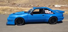 Rob's wide body aero fox mustang build thread - Page 5 - Corner-Carvers Forums 93 Mustang, Blue Mustang, Fox Body Mustang, Notchback Mustang, 60s Muscle Cars, Mercury Capri, Wide Body Kits, Sport Cars, Race Cars