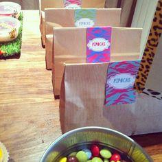 Aniversário ✪ Isabelinha em África ✪   Kitschnet Safari Party Girl