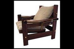 Resultado de imagem para poltronas artesanais de madeira