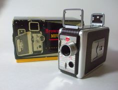 Vintage Kodak 8mm Brownie Movie Camera, Original Box with Film by CraftyMJC on Etsy