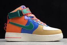 Magic Stick x Nike Air Force 1 High '07 QS WhiteRed 573967 100