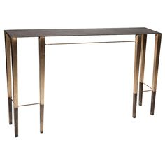 """Singha"" Contemporary Bronze Console Table by Aurélien Gallet 