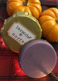 Lavender and Coffee Bean Handmade Relaxing Soap