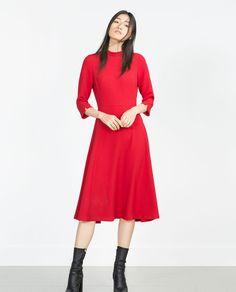 ハイネックワンピース-すべてを見る-ドレス ワンピース-レディース | ZARA 日本