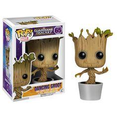 Figura Guardians Of The Galaxy Dancing Groot Pop! Vinyl