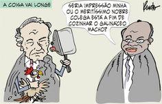 Joaquim Barbosa x Lewandowski