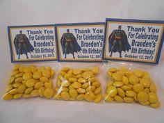 Batman Party Favors - Batman Birthday Party -Batman Candy Favors on Etsy, $45.00