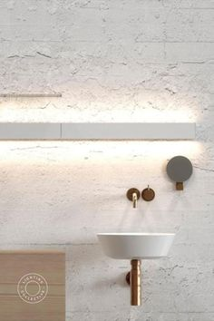 This minimalist LED wall light is a great lighting solution that creates a flood of light down onto focus areas along its linear shade. Whether it is in the bathroom, kitchen or highlighting a feature, with a great streamline design like this, it makes a beautiful addition to any room. A diverse light with included links that allows you to extend it indefinitely. Also created for bathroom use, it can withstand moisture and water.  #indirectlighting #interior #lighting #modern #homedesign