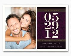 """I really like these """"save the date"""" cards for some reason."""