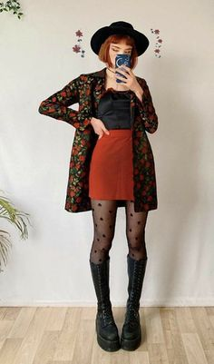 Mode Outfits, Grunge Outfits, Fashion Outfits, Womens Fashion, Aesthetic Fashion, Aesthetic Clothes, Cute Casual Outfits, Pretty Outfits, Mode Lookbook