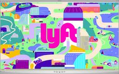 "Check out this @Behance project: ""Lyft Origin Story"" https://www.behance.net/gallery/46534297/Lyft-Origin-Story"
