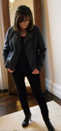 Jacket by Dunnes Stores What I Wore, Leather Jacket, Blog, How To Wear, Jackets, Fashion, Studded Leather Jacket, Down Jackets, Moda
