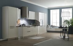 modern kitchen design with grey color idea