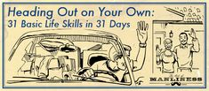 Heading Out on Your Own: 31 Life Skills in 31 Days — Series Wrap-Up