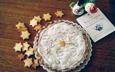 Torta amarena e crema pasticcera- Amarena almond cake