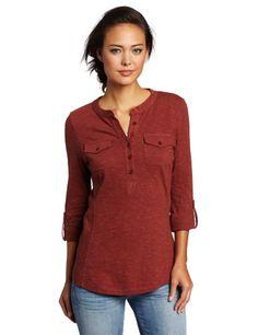 Aventura Women s Ellery Henley Shirt « Clothing Impulse 7942f144eea