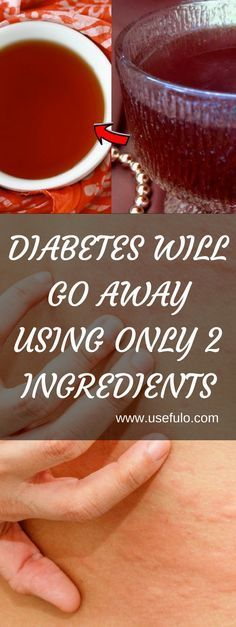 Diabetes Will Go Away Using Only 2 Ingredients