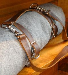 Leather Blanket Carrier Strap by Ashworth Made on Scoutmob Shoppe