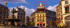 Gastow from Ratatouille seen in Cars 2