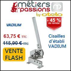 #missbonreduction; Vente flash: 45% de remise sur la Cisailles d'établi VADIUM chez Métiers et Passions. http://www.miss-bon-reduction.fr//details-bon-reduction-M%e9tiers-et-Passions-i854691-c1829675.html