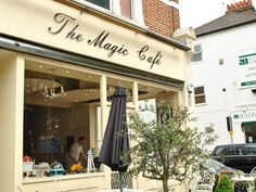 The Magic Cafe on Fulham Palace Road in London SW6
