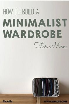 Learn how to build a men's minimalist capsule wardrobe that works for spring, summer, autumn and winter. Check out my handpicked simple minimalist wardrobe essentials for casual, business casual or work outfits. Minimalist Wardrobe Men, Minimalist Wardrobe Essentials, Mens Wardrobe Essentials, Minimal Wardrobe, Simple Wardrobe, Minimalist Fashion, Minimalist Lifestyle, Minimalist Living, Capsule Wardrobe Men