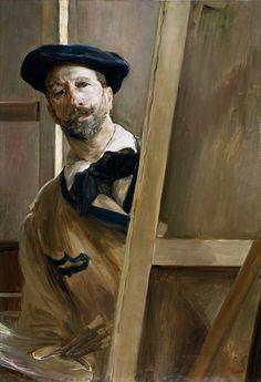 José Villegas Cordero (1844-1921) • Autorretrato, hacia 1898
