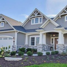Advice, secrets, along with manual beneficial to acquiring the most effective outcome and ensuring the optimum use of Remodeling Exterior House House Siding, Craftsman Home Exterior, Ranch House Exterior, House Exterior, Building A House, House Styles, Exterior Design, Residential Design, Craftsman House