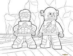 Print Out And Enjoy Coloring LEGO DC Universe Super Heroes Pages We Have A Large Selection Of Printable Sheets Available In