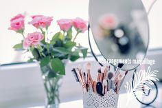 Article sur mes différents rangements pour mon maquillage 💄nyxie 💅blogueuse rennaise 🚎