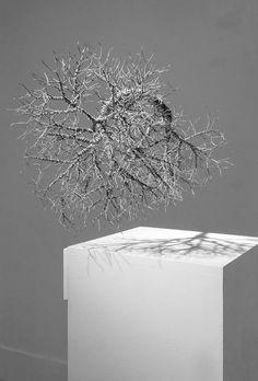 on Behance Abstract Sculpture, Sculpture Art, Contemporary Sculpture, Contemporary Art, Flower Artwork, Hanging Art, Textiles, Pattern Art, Installation Art