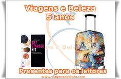 Viagens e Beleza: Aniversário do blog e presentes pra você!