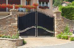 Portail Maison les 19 meilleures images du tableau portail & clôture sur pinterest