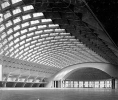 """Résultat de recherche d'images pour """"Pier Luigi Nervi Halls of the Turin Exposition Center"""""""